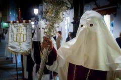 Baeza, Andalusia, province of Jaén, Spain - Semana santa royalty free stock photos