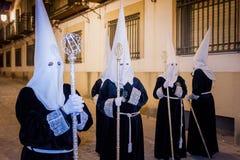Baeza, Andalusia, province of Jaén, Spain - Semana santa Stock Photo