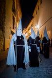 Baeza, Andalusia, province of Jaén, Spain - Semana santa Stock Images