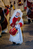 Baeza, Andalusia, provincie van Jaén, santa van Spanje - Semana- Stock Afbeelding