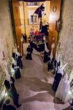 Baeza, Andalusia, provincie van Jaén, santa van Spanje - Semana- Royalty-vrije Stock Foto's