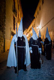 Baeza, Andalusia, provincie van Jaén, santa van Spanje - Semana- Stock Afbeeldingen