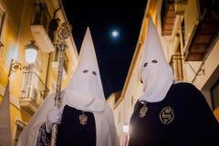 Baeza, Andalusia, provincie van Jaén, santa van Spanje - Semana- Royalty-vrije Stock Fotografie