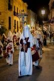 Baeza, Andalusia, provincie van Jaén, santa van Spanje - Semana- Stock Foto's