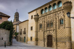 Baeza, Andalusia, provincie van Jaén, Spanje - Internationale Unive Royalty-vrije Stock Foto's