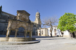 Baeza, Fountain Royalty Free Stock Images