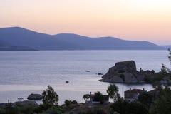 Bafa Lake - Aydin - Turkey Stock Photos