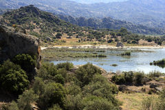 Bafa Lake - Aydin - Turkey Royalty Free Stock Photos