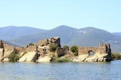 Bafa Lake - Aydin - Turkey Royalty Free Stock Photo