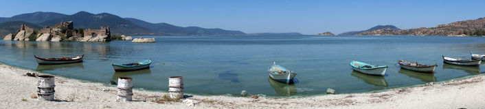 Bafa lake Royalty Free Stock Image