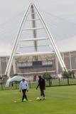 Bafana Bafana G.Egesund Coach Stadium Royalty Free Stock Image