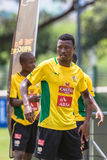Bafana Bafana gracza ostrość Obraz Royalty Free