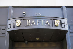BAFTA budynek Zdjęcia Stock