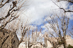 Bagà. Small village in the pyrenees Royalty Free Stock Photos