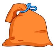 Bag. Chock-full something extremely interesting and valuable Royalty Free Stock Photo