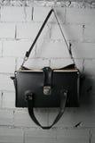 Bag. A black vintage tools bag Royalty Free Stock Image