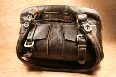 Bag. An old bag stock images