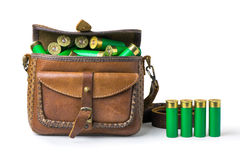 Bag with ammunition Royalty Free Stock Photos