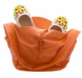 Bag And Shoes Royalty Free Stock Photos