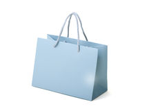 Bag as a gift. Paper bag on white background. Stock Photography