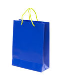 Bag as a gift. Paper bag on white background. Stock Images