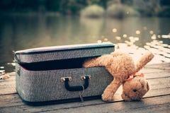 bag bear teddy стоковая фотография
