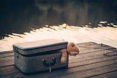 bag bear teddy стоковые изображения rf