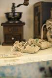 The bag. Beautiful Bag of coffee beans Stock Photos
