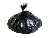 Bag biodegradable trash Royalty Free Stock Photo