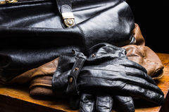 Bag  Black Royalty Free Stock Photo