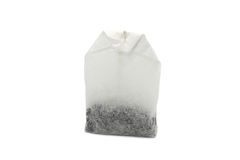 Bag of black tea Stock Image