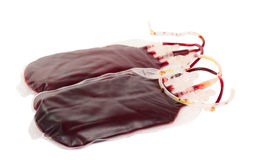 Bag of blood Stock Photos