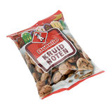 Bag with brand Bolletje spice nuts. Stock Image