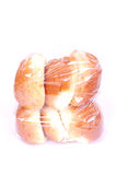 Bag of bread buns Royalty Free Stock Image