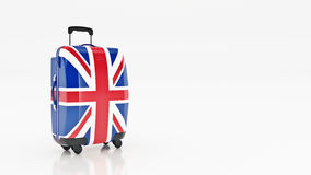 Bag british flag. Flags of the United Kingdom. Stock Image