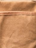 Bag brown pocket Stock Photo