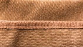 Bag brown pocket Royalty Free Stock Image