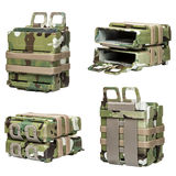 Bag Bullet camouflage Stock Images