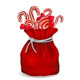 Bag of candy Stock Images
