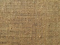 Bag canvas texture macro Royalty Free Stock Images