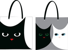 Bag cat Royalty Free Stock Photo