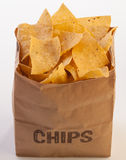 Bag of chips 2 Stock Photography