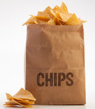 Bag of chips 3 Stock Photo