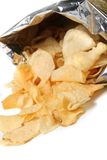 Bag of chips royalty free stock photo