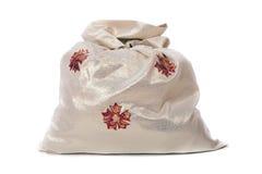 Bag of Christmas gifts Stock Image