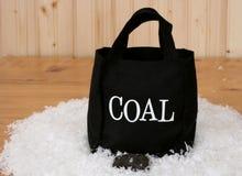 Bag of Coal Royalty Free Stock Photo