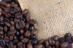 Bag coffee Royalty Free Stock Photography
