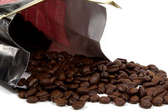 Bag of Coffee stock images