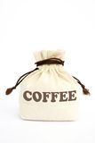 Bag of coffee Stock Photography