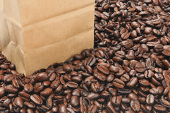 Bag of coffee Royalty Free Stock Image